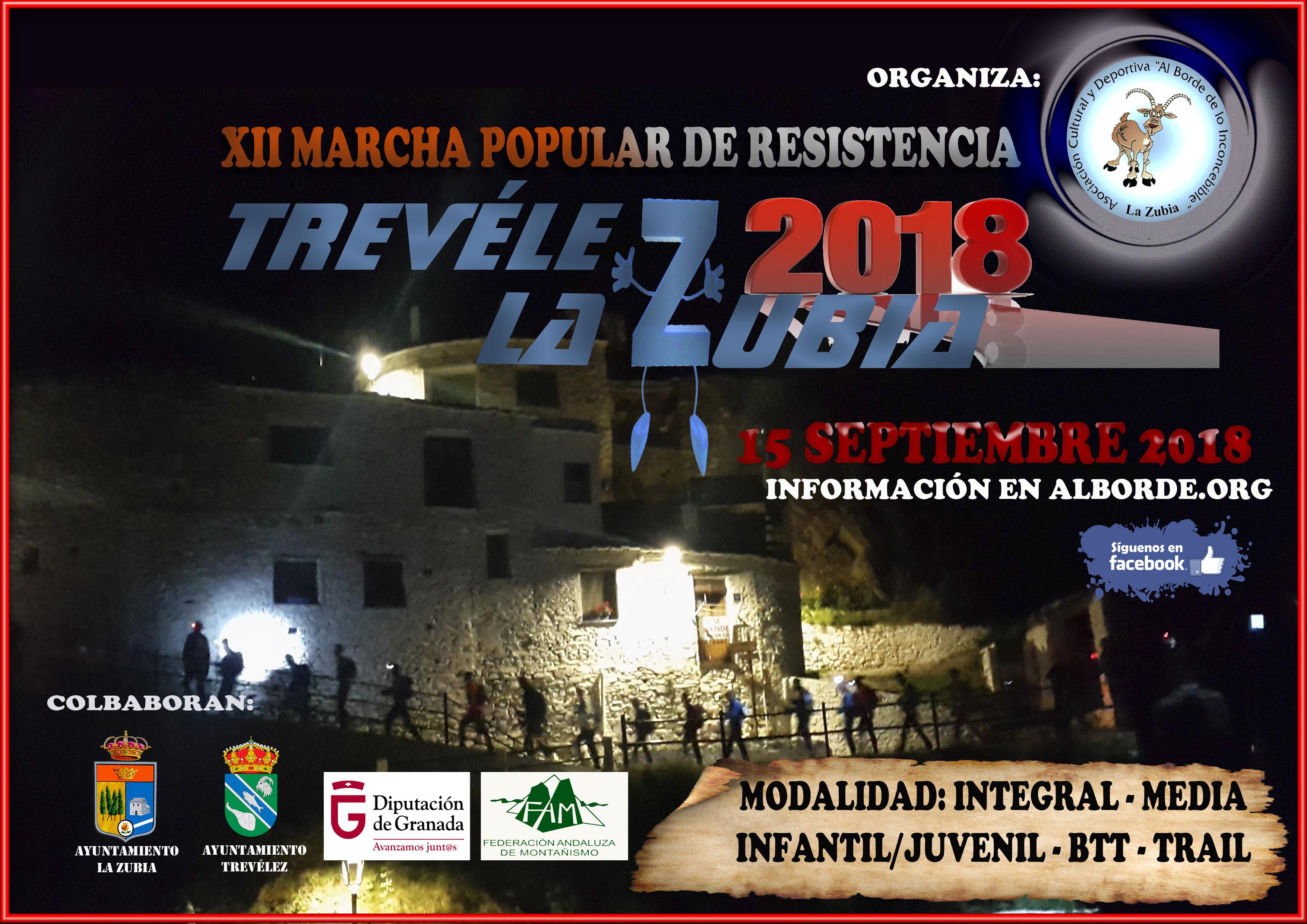 XII Travesía Trevélez - La Zubia 2018