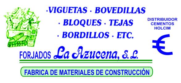 Forjados La Azucena - Materiales de Construcción
